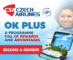 Join the Czech Airlines OK Plus Programme