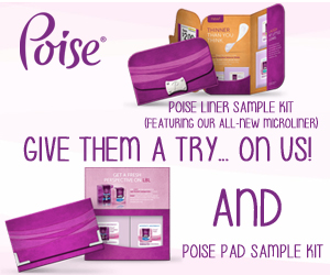 Free Poise Sample Kit