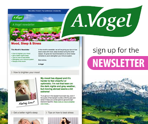 Sign Up for the A. Vogel Newsletter