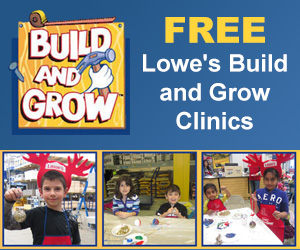 Free Lowe's Build and Grow Clinics