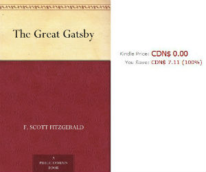 The Great Gatsby Free Kindle Edition