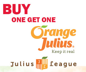 BOGO Drink from Orange Julius