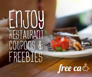 A Tasty List of Canadian Restaurant Coupons and Freebies