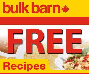 Free Recipes from Bulk Barn