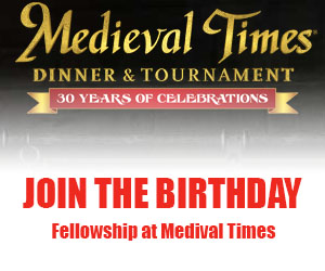 Join the Birthday Fellowship at Medieval Times