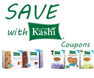 Save with Kashi Coupons