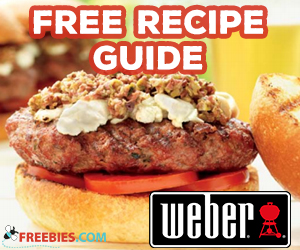 Free Weber Tailgating Glory Recipe Guide
