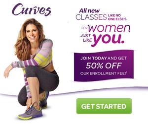Try Curves for with 50% off