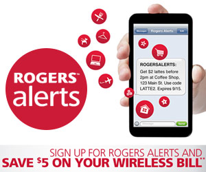 Save $5 on Your Rogers Wireless Bill