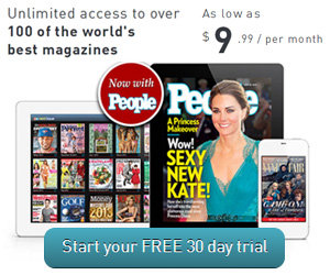 Unlimited Online Magazines Free for a Month