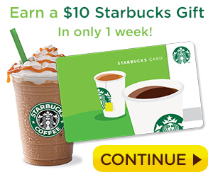 Get a $10 Gift Card in 1 Week