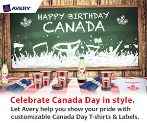 Free Canada Day Templates from Avery