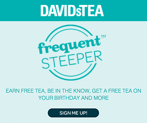 Free Tea on Your Birthday from David's Tea