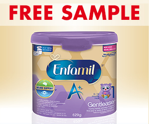 Free Enfagrow A+ Samples