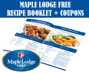 Maple Lodge Free Recipe Booklet + Coupons