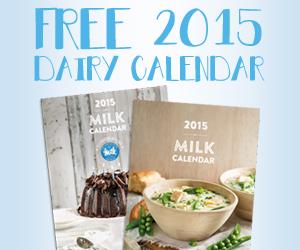 Free 2015 Dairy Calendar