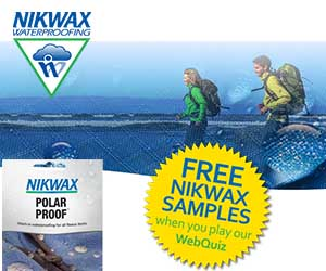 Nikwax Polar Proof Sample