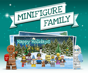 Free LEGO Minifigure Postcard