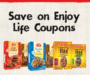 Save $1.50 Off Enjoy Life Foods Products