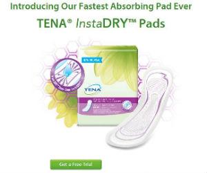 Free TENA InstaDry Sample