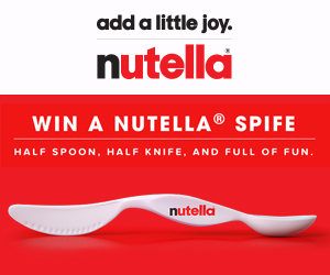 Win a KitchenAid Stand Mixer from Nutella