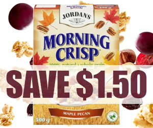 Save $1.50 on Jordan's Morning Crisp