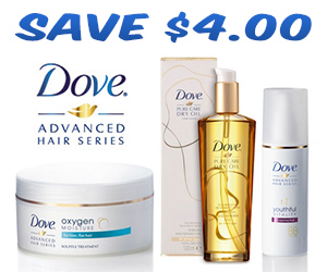 Save $4 On Dove Pure Care Dry Oil