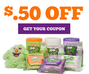 Save 50¢ off Any Boogie Wipes Product