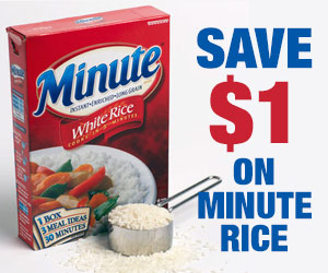 Save $1 on Minute Rice