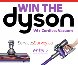 Win a Dyson Cordless Vacuum
