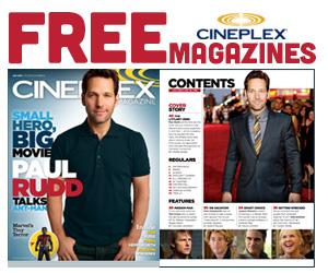 Free Cineplex Magazines