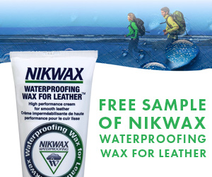 Sample of Nikwax Waterproofing Wax for Leather