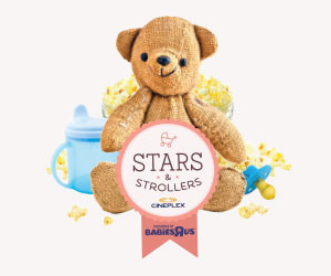 Stars and Strollers at Cineplex