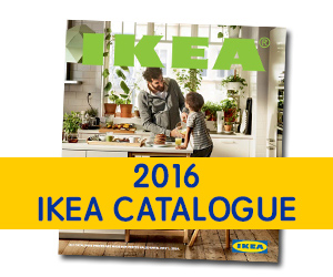 Win a new bathroom - 2016 Ikea Catalogue