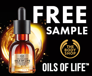 Body Shop Oils of Life Sample
