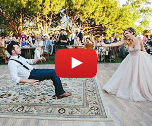 Bride & Magician Groom's Amazing First Dance