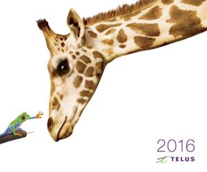 2016 Telus Calendar