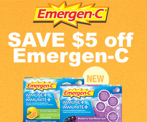 Save $5 off Emergen-C