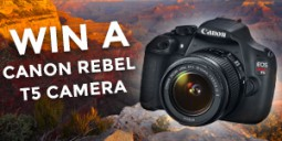 Win a Canon Rebel T5 Camera