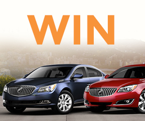 Win Your Choice Of Car With GM