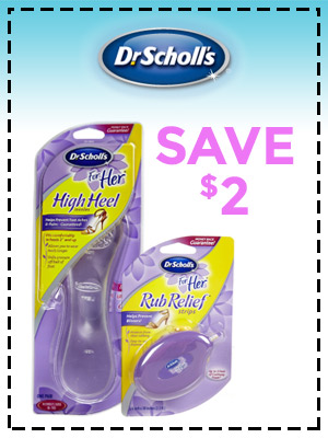 Save $2 off Dr. Scholl's for Her