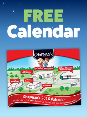 Free Chapman's 2016 Calendar