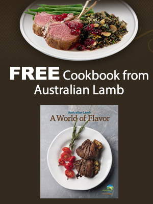 Free Cookbook from Australian Lamb