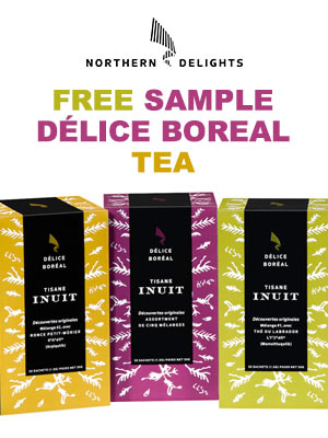 Free Sample Délice Boreal Tea