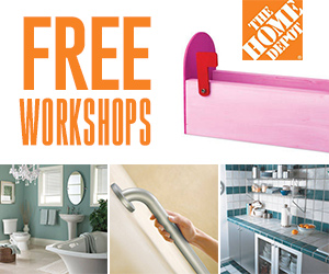 Free Workshops At The Home Depot
