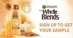 Free Sample Garnier Whole Blends Haircare