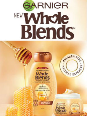 Free Sample Garnier Whole Blends from Shopper's