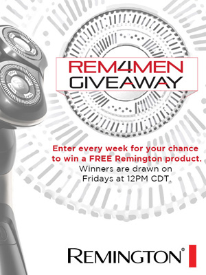 Remington4Men Giveaway