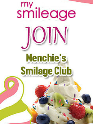 Join Menchie's Smileage Club