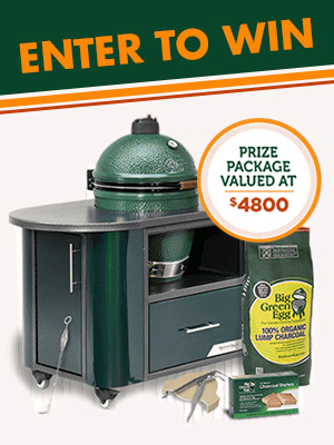Win A Big Green Egg Cooking Experience